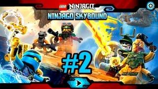 #2 Лего Ниндзяго Скайбаунд   Игра про Мультики ниндзя LEGO Ninjago Skybound Gameplay