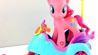 Video for kids: My Little Pony. Unboxing  Pinkie Pie's scooter