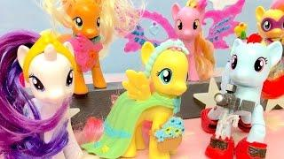My Little Pony toys videos -  Toy videos for girls - Girls toys - Fluttershy's fashion show