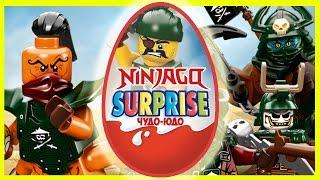 Лего Ниндзяго - Небесные Пираты - Киндер Сюрприз - Lego Ninjago - Kinder Surprise