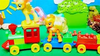 My Little Pony toys videos - Trains for kids - Toy videos for girls - Girls toys