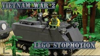 LEGO Vietnam war part 2! / Лего мультфильм Вьетнамская война, 2 часть