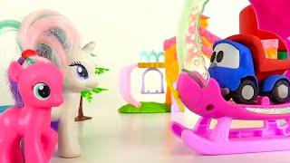 Videos for girls - My Little Pony toys - Leo the Truck toy - Cars for kids